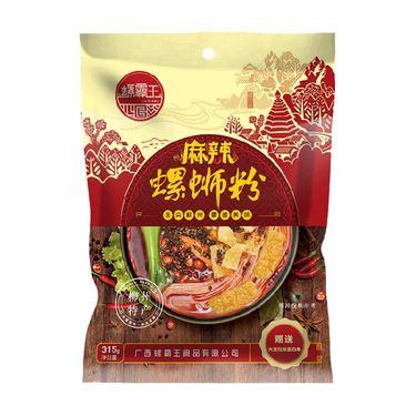 螺霸王螺蛳粉麻辣味315g广西柳州特产螺蛳粉方便面粉(煮食)米线 速食