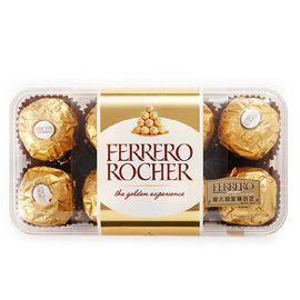Ferrero Rocher费列罗榛果威化糖果巧克力礼盒16粒200g