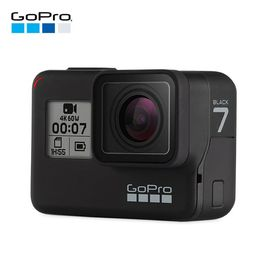 GOPRO 品牌直供HERO7 Black 数码相机摄像机4K高清防抖运动相机旗舰款