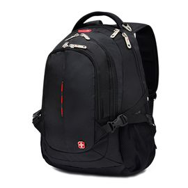 SWISSGEAR 瑞士军刀 多功能17.3英寸笔记本电脑包 大容量户外旅行包 男女尼龙双肩包 SA-9601XL