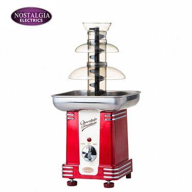 Nostalgia Electrics 美国诺思得其巧克力喷泉机家用三层喷淋塔 RFF500 红色