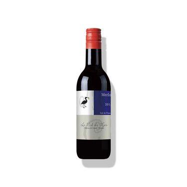 圣尚 【法国原瓶进口红酒】圣尚·保罗美乐干红葡萄酒187ml(法国农业大赛金奖)