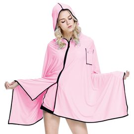 VVC 2018夏季新防晒衣女薄款防紫外线斗篷外套百搭披风防晒服
