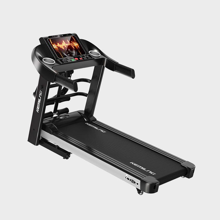 柯迈龙  家用运动健身跑步机K600彩屏单/多功能版 10.1�几咔宀势良涌砼芴�Wifi连接弹簧减震多功能健身