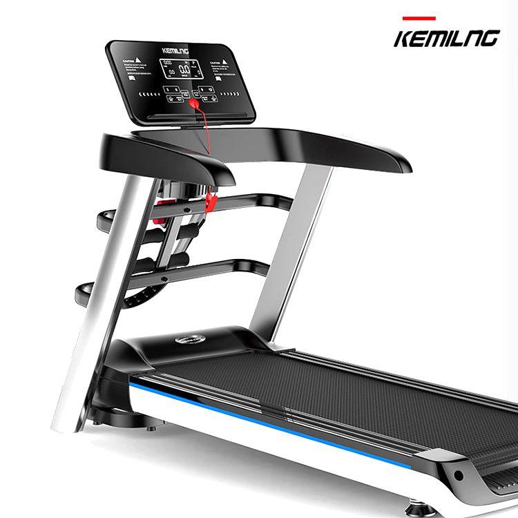 柯迈龙 家用运动健身跑步机A8多功能版 一体式折叠加宽跑台回弹减震多速调节多功能健身